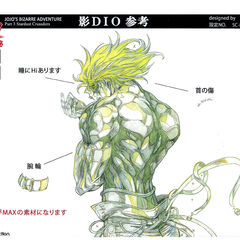 Anime reference sheet: pose