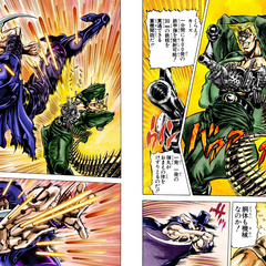 Stroheim and his machinegun