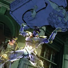 Jotaro and Star Platinum, <i>EoH</i>