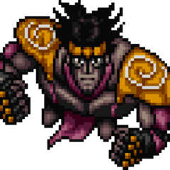 Star Platinum sprite in <a href=