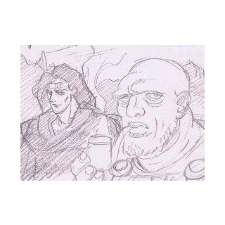 Tonpetty And Straizo As They Appear In The OVA's Timeline Videos