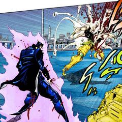 Джотаро убивает Дио