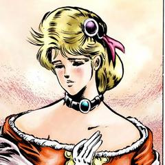 Erina blushing