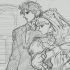 Erina Marrying Jonathan Joestar