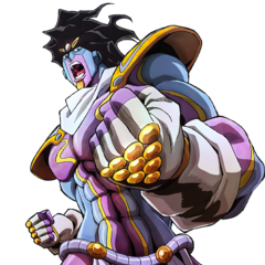Key art of Star Platinum.