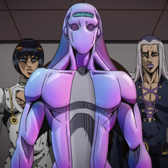 Alongside Abbacchio and Moody Blues