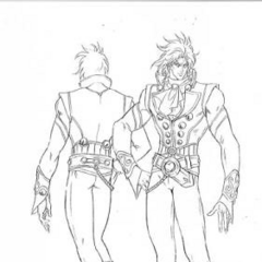 Dio's battle outfit before facing <a class=