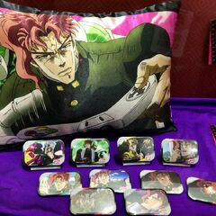 J-World Prizes displayed at Jump Festa