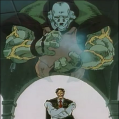 Osiris, as depicted in the OVA