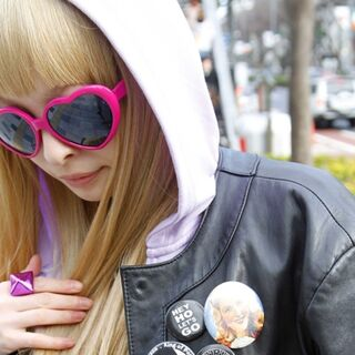 Kyary's JoJo button