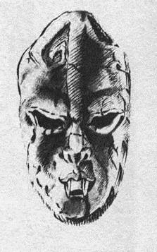 Masque de pierre