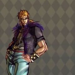 Dio Costume B in <i>All Star Battle</i>