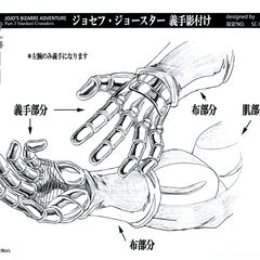 Anime reference sheet: hand (shaded)