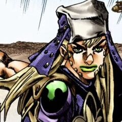 Gyro in his executioner uniform