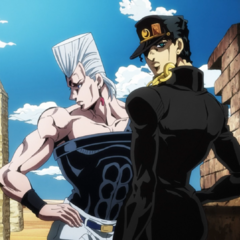 Jotaro alongside <a href=