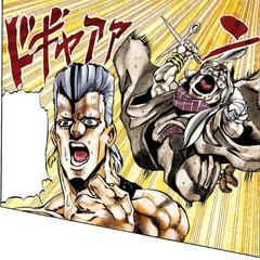 Enya attacking <a href=