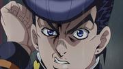 DU ep37 josuke angry look