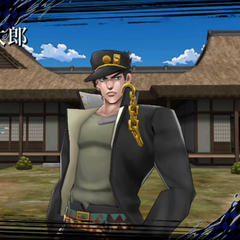 Jotaro as an area boss, <i>DR</i>