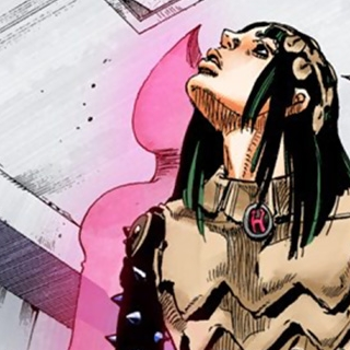 I Am a Rock's first appearance as an unusual figure behind Yotsuyu