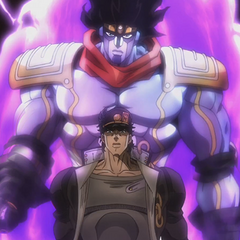 Star Platinum's first appearance
