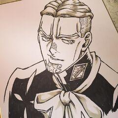Drawn by a friend (友人)