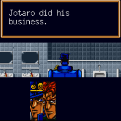 Jotaro did his business (This restores MP)