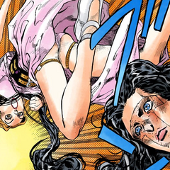 Being attacked by Yukako