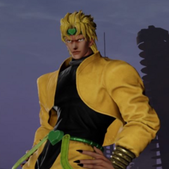 DIO's in-game model
