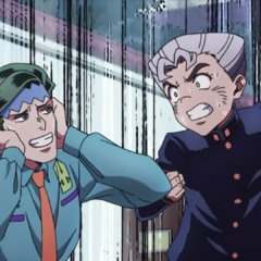 Koichi scolding Rohan for snooping into <a href=