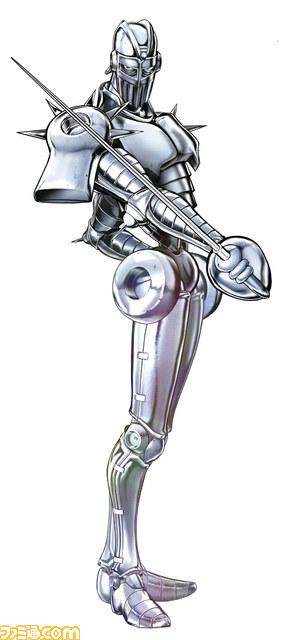 Afbeeldingsresultaat voor silver chariot jojo eyes of heaven
