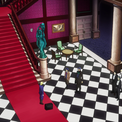 The main hall as seen in the anime