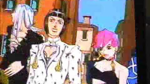 PS2 GioGio's Bizarre Adventure Vento Aureo Trailer (2002)