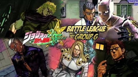 JoJo's Bizarre Adventure All Star Battle - Battle League Qualifiers Group G FULL FIGHTS