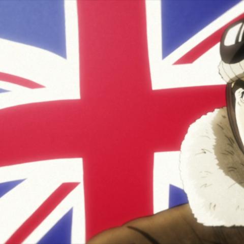 Джордж как пилот британских ВВС