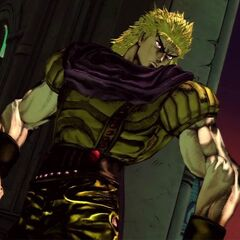 Dio's intro, <i>All-Star Battle</i>