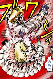 Dio slapping Erina