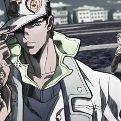 Jotaro featured in the second opening, <i><a href=