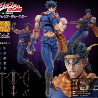 Joseph Joestar's Action-figure from <a href=