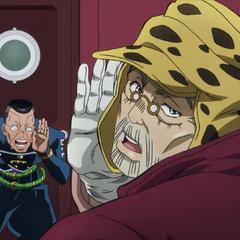 Joseph struggling to hear <a class=