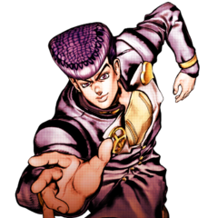 Josuke Menu Art