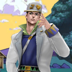 Part 4 Jotaro appearing in a story scene, <i>DR</i>