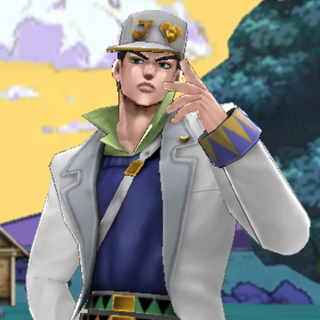 Part 4 Jotaro appearing in a story scene