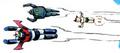 Astro Boy, Mazinger Z and Tetsujin 28-go