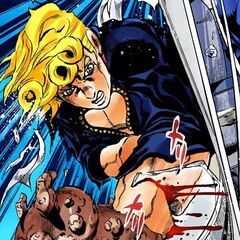 Giorno resorts to losing his arms in an attempt to lose Notorious B.I.G