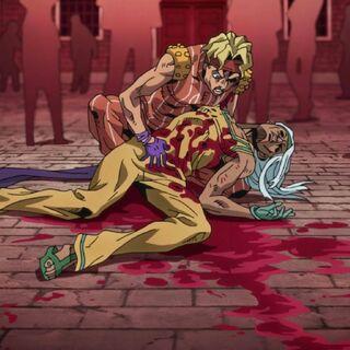 Tiziano's corpse.