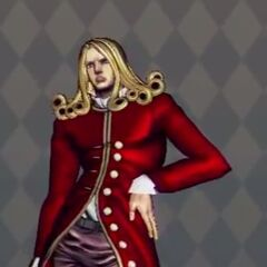 Funny Valentine Costume A in <i>All Star Battle</i>