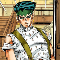 Rohan answers the door