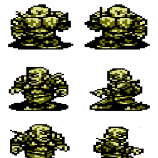 Stand User Battle Sprite Sheet