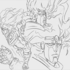 Star Platinum Key Art