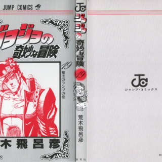 The cover of Volume 19 without the dust jacket